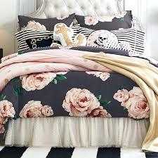 black duvet covers the bed of roses duvet cover sham black blush black and white duvet