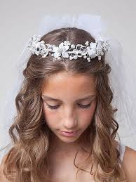 First Communion Hairstyles 8 Best Long Hairstyles Beautiful First Communion Hairstyles For Long Hair