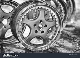 Rims Design Studio Close Rims Car Alloy Wheel Old Stock Photo Edit Now 546512779