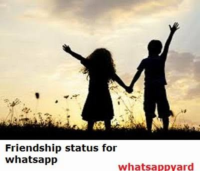 friendship status for whatsapp in english