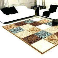 blue brown rug and teal area rugs chocolate for living room