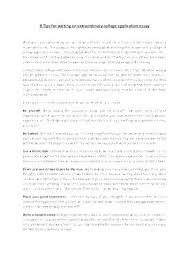 Personal Statement For College Personal Statement Essay Examples For College Personal Statement