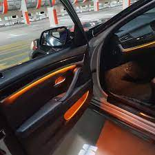 Bmw F10 New Ambient Lighting Aftermarket Retrofit Bmw Interior Bmw Ambient Lighting