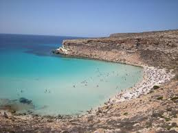 Rabbitt Beach Lampedusa Italy Considered One Of The Worlds Best