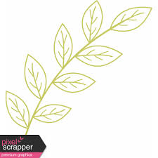 Branch Template Leafy Branch Template Outline 06 Graphic By Sheila Reid