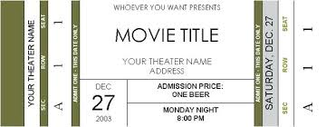 Free Concert Ticket Template Cool Image Result For Free Printable Football Tickets Favorite Places