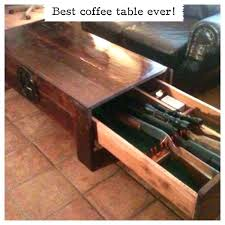 coffee table safe rack plans coffee table storage cabinet coffee table safe plans