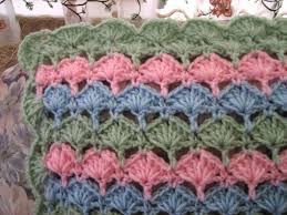 Sea Shell Afghan Crochet Pattern Custom Decorating Design