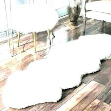 small square sheepskin rug ivory luxury faux fur white rugs large blanket and carpets pink round
