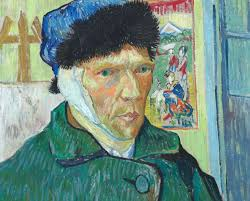 vincent van gogh self portrait with bandaged ear