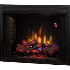 chimney free builders box led fireplace with doors 1 440 watts model 39eb500grs