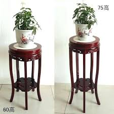 wooden flower stand solid wood flower stand living room indoor wooden flower pots hanging orchids antique wooden flower stand