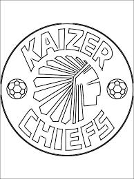 Kaizer Chiefs Kleurplaat Gratis Kleurplaten