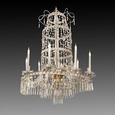 an important crystal chandelier italy early 19th century