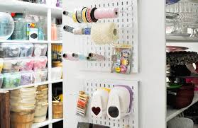 craft room furniture michaels. karau0027s party ideas craft room organization made with michaels furniture