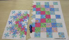 Give a Little Twist to a Quilt Around the World - Quilting Digest & Worldly Lil Twister Quilt Adamdwight.com