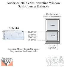Andersen Window Balances Andersen Window Balancer