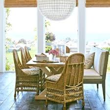 indoor wicker dining room chairs beautyconcierge me throughout plans 5