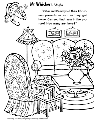 Hidden Picture Sheets For Christmas – Fun for Christmas