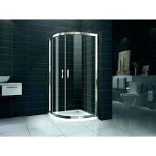 shower curved shower door standard installation more views for bathtub