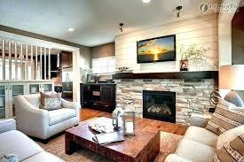 marvelous living room corner fireplace