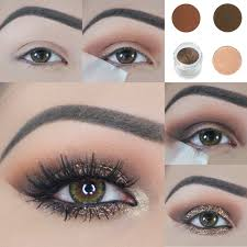 you will need following things to apply hidden trere eye makeup