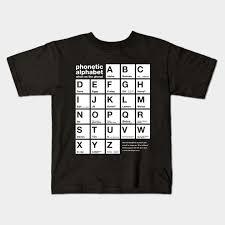 What is the ipa (international phonetic alphabet)? Funny Phonetic Alphabet Chart When On The Phone Phonetic Kids T Shirt Teepublic