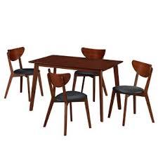 modern furniture dining table. Bulgera Modern Wood 5 Piece Dining Set Furniture Table
