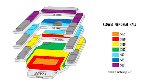 Clowes Hall Seating Chart Indianapolis Clowes Memorial Hall Butler Arts Center Mapa