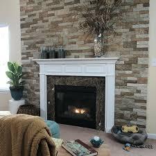 install faux stone veneer stone veneer surrounding the fireplace stone veneer fireplace kit