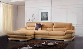 your bookmark products 2 520 00 2755 modern camel leather sectional sofa