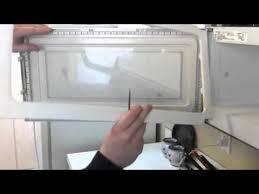 over the range microwave oven door