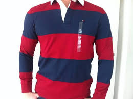 2 mens medium tommy hilfiger shirts rugby