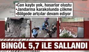 Son dakika: Bingöl'de şiddetli deprem! Erzurum, Diyarbakır, Muş ve Elazığ  da hissetti! - GÜNCEL Haberleri