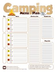 menu planner worksheet menu planning worksheet chuck wagoneer