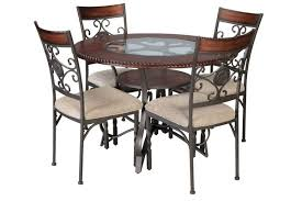 Round glass tables and chairs Dark Oak Glass Sammy Dining Table Dining Chairs Gardnerwhite Epic Sale On Dining Room Sets Gardnerwhite