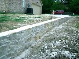 concrete retaining wall costs stamped concrete