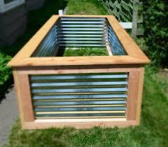 8 best corrugated metal garden beds mages on pnterest