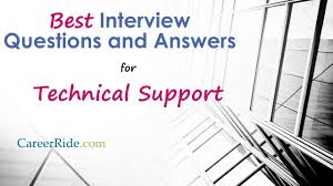 Technical Support Questions Technical Support Interview Questions And Answers Youtube