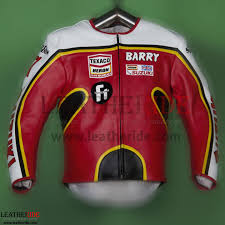 suzuki gp 1976 barry sheene leather jacket