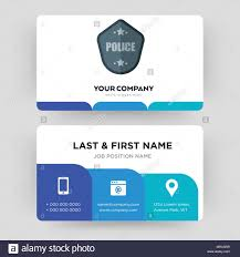 Creative Name Badge Design Police Badge Business Card Design Template Visiting For