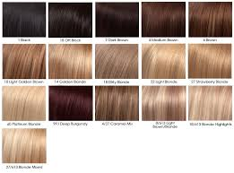Dark Blonde Dark Strawberry Blonde Hair Color Chart Caramel
