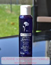 fl lotion eye make up remover with soothing cornflower 200 ml view klorane soothing eye makeup