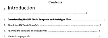 Style Guide Template Word The 10 Best Table Of Contents Templates For Microsoft Word