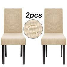homluxe high stretch chair covers dining room water repellent fabric parson chair slipcovers 2