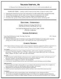 Nurse Resume Licensed Practical Lpn Sample Gra Peppapp