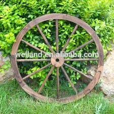 decorative wooden wagon wheels antique wooden wheels home garden decoration wagon wheels 36 decorative wooden