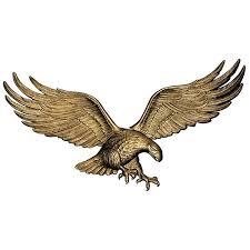 36 eagle wall decor antique brass