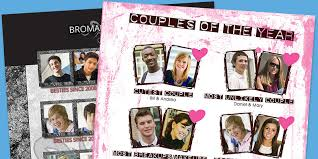 yearbook page ideas couples of the year