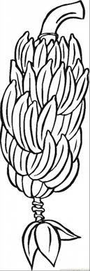 Small Picture Banana 5 Coloring Page Free Bananas Coloring Pages